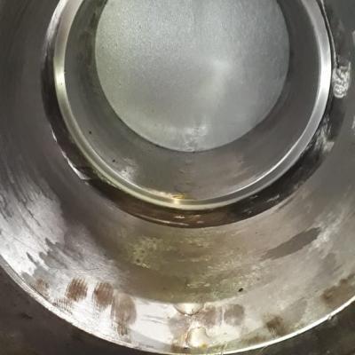 Уплотнительная поверхность корпуса после притирки