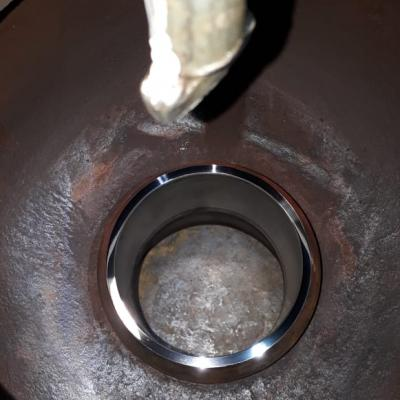 Притирка седла клапана