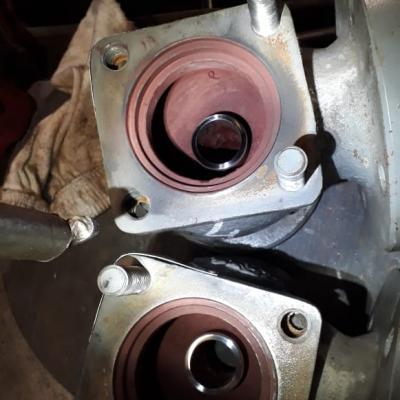 Внутреннее состояние предохранительных клапанов после ремонта