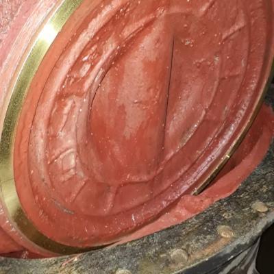 Ремонт задвижки с установкой нового уплотнительного кольца 30ч930бр Ду 600 для Водоканала